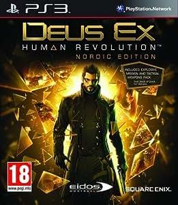 Deus Ex Human Revolution Nordic Edition By Sqaure Enix -  Playstation 3