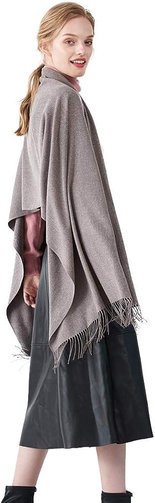 CARESEEN /Écharpe Femme Frange Chale Foulard Etole Automne Hiver Chaud Grand Doux Bon Cadeaux Pour Femme