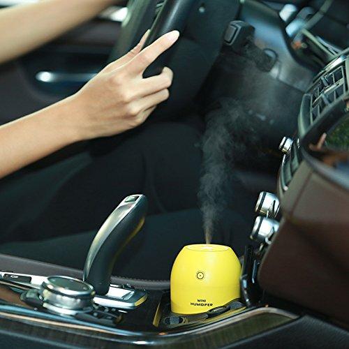 Five0eight Ultrasonic Usb Humidifier Portable Mini Lemon