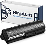 NinjaBatt 9 Cell Laptop Battery for HP 593553-001 593554-001 636631-001 G62 MU09 584037-001 593550-001 593562-001 Pavilion G7 G6 G4 DM4 HSTNN-LB0W Presario CQ42 CQ56 CQ57 CQ62 - [6600mAh/73wh]