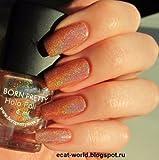 Generic Born Pretty 6ml Holographic Holo Glitter Nail Art Polish Varnish 6#