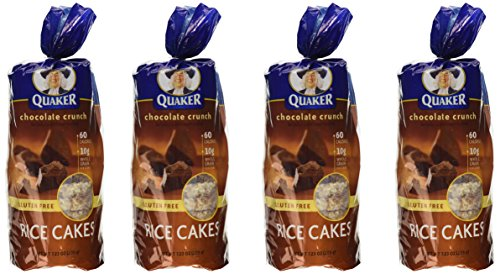 - Quaker, Rice Cakes, Chocolate Crunch, 6.56oz Bag (Pack of 4)