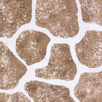 Stone Wall Patio And Wall Stencil With Paints   Stencil With Paints    Plastic