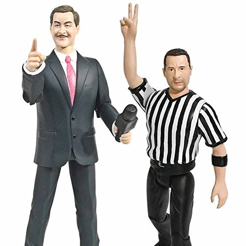 Special Deal: Talking Referee & Ring Announcer Wrestling Figures