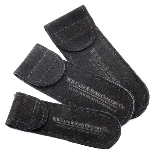 Case Knives 9067 Medium Suede Slip Pouches 5pak