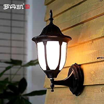 Luz De Pared Exterior Resistente A La Lluvia Luz De Jardín ...
