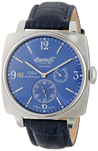 Ingersoll Men's IN8014BL Galesburg Analog Display Automatic Self Wind Blue Watch