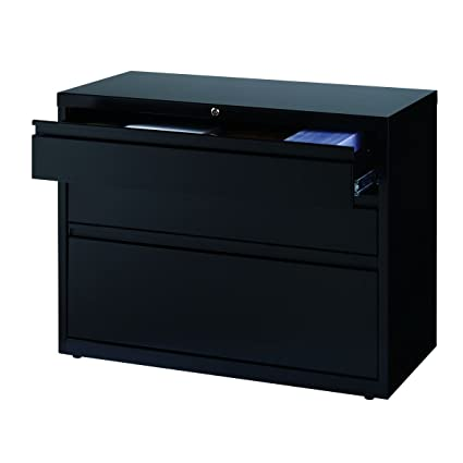 Beau Hirsh 3 Drawer Lateral File Cabinet In Black