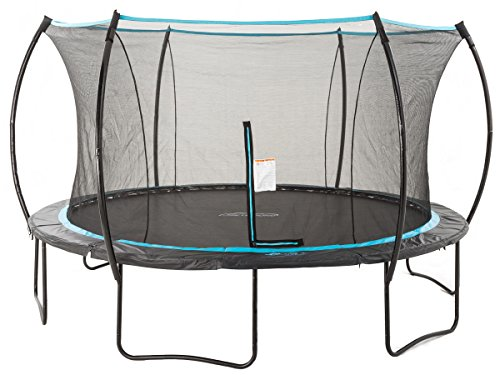 SkyBound Cirrus 14 ft Trampoline with Full Enclosure Net System by SkyBound