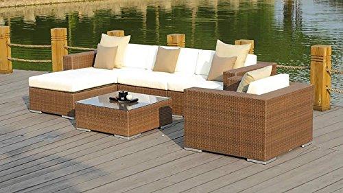 talfa polyrattan gartenm bel lounge big mesa java g nstig online kaufen. Black Bedroom Furniture Sets. Home Design Ideas