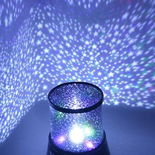 kicode Chic diseño Star proyector luz nocturna LED Star Sky ...