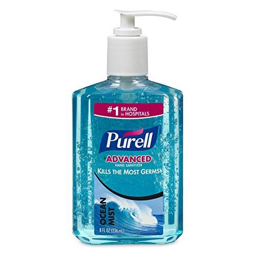 Purell 3012-12 Pump Bottle, Ocean Mist, 8 Ounce (Pack of 12) (Purell Hand Sanitizer Ocean Mist)