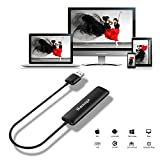 all cast dongle - Innens 5G WiFi Wireless HDMI Display Dongle, Full HD 1080P Screen Mirroring Display Receiver Support Chromecast /Miracast /Airplay /DLNA /WIDI for IOS /Android /Mac OS /Win 8.1+