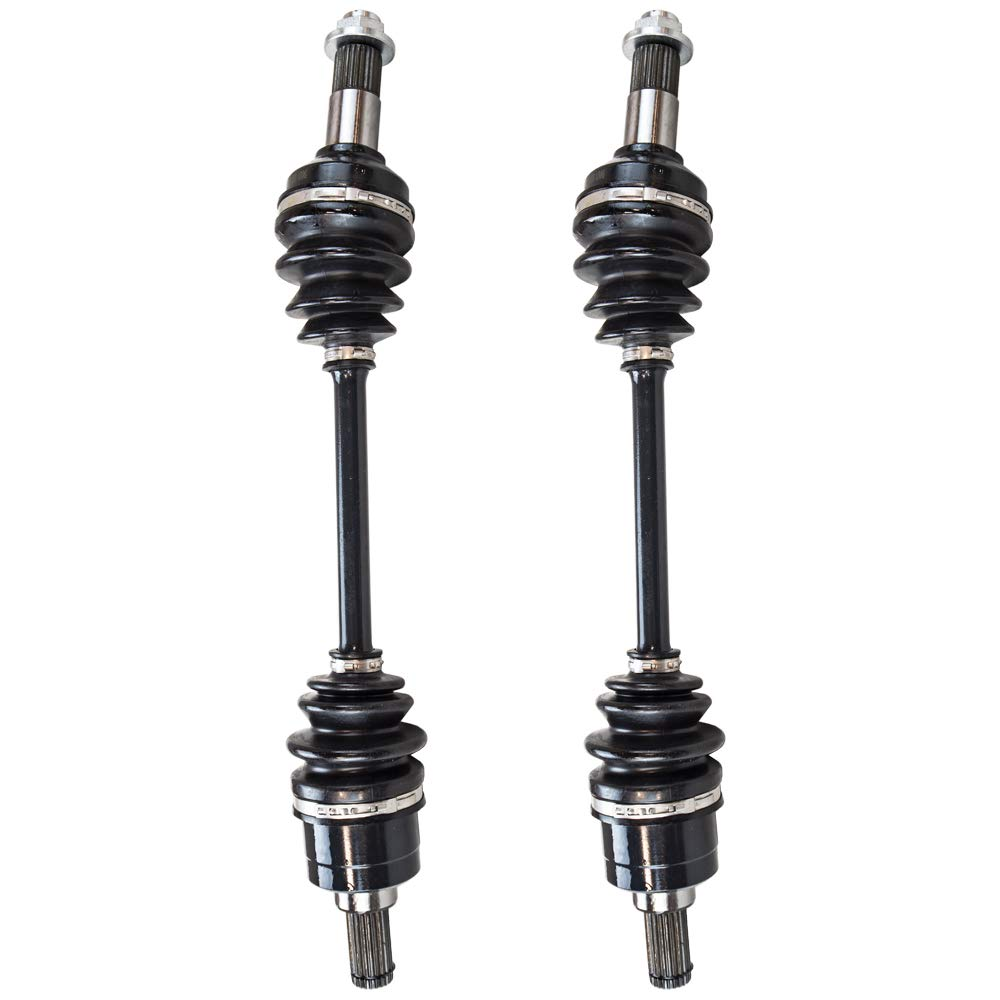 NICHE High Strength Rear Drive Shaft CV Axle For Yamaha Grizzly 550 700 28P-2510F-04-00 28P-2518E-10-00 2 Pack
