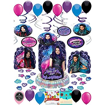 Amazon.com: Descendientes 2 Fiesta de cumpleaños Mega Kit ...