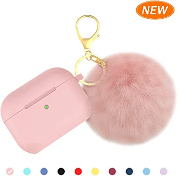 Amazon Com Brg For Airpods Pro Case Soft Silicone Case With Cute
