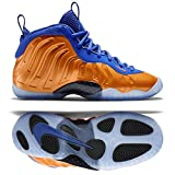Nike Little Posite One (GS) 644791-800 Total Crimson/Game Royal/Black Kids Shoes (6.5y)