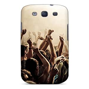 Galaxy S3 Case Bumper Tpu Skin Cover For Crowd At A Music Show Accessories by supermalls