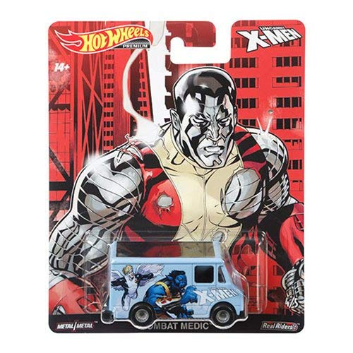 2019 HOT Wheels Premium X-Men Combat Medic