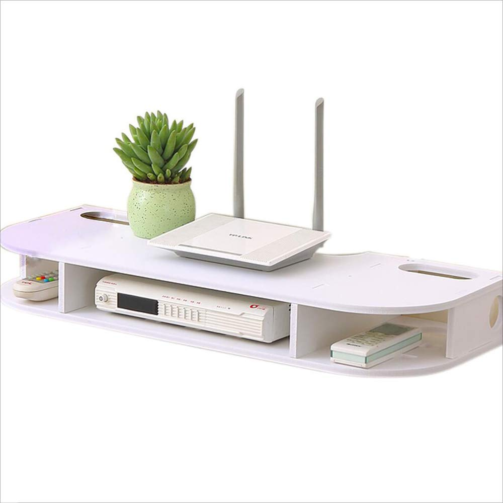 FU HOME DVD Wall Mount Shelf/TV Box Holder For Routers, Set-top Boxes, Multimedia by FU HOME