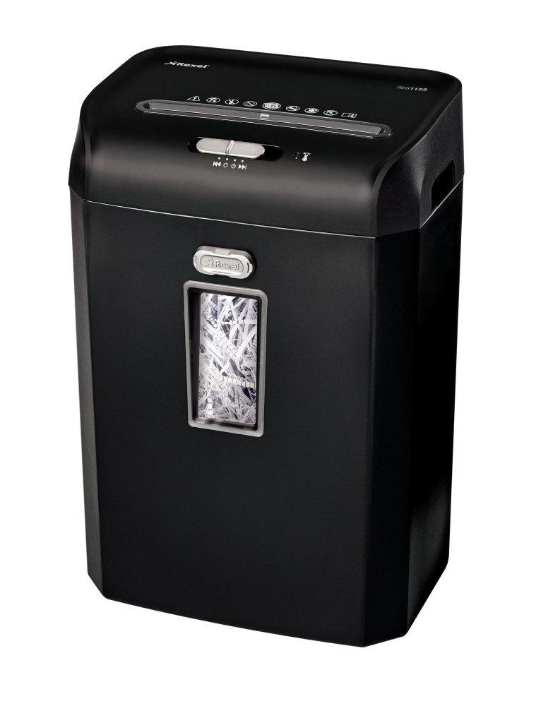 Rexel Promax RES1123 - Destructora de corte en tiras para oficinas pequeñas y medianas, papelera de 23 l, 12 hojas, color negro: Rexel: Amazon.es: Oficina y ...