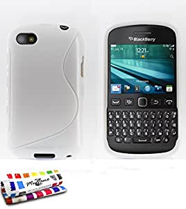 Muzzano F868557 - Funda para Blackberry 9720, color blanco