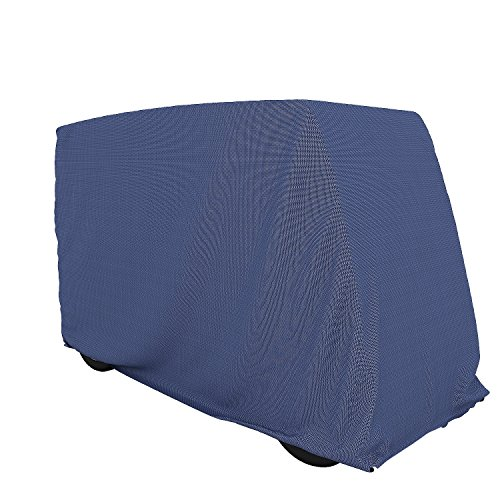 Cosway 210D Polyester Fairway Golf Cart Cover, 2 Passenger Waterproof with Storage Bag [US STOCK]