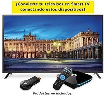 Televisor Led 49 Pulgadas Ultra HD 4K TD Systems K49DLM8U. Resolución 3840 x 2160, 3X HDMI, VGA, USB Reproductor y Grabador.: Amazon.es: Electrónica