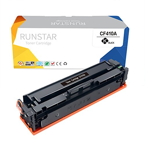 - Run Star Compatible Toner Cartridge Replacement for HP CF410A (Black)