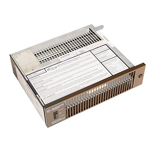 Quiet-One 2000 Series 4,000 BTU Brown Hydronic Kickspace Heater (Not Electric)