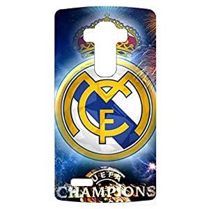 Fashion Fireworks Style Real Madrid Football Club Phone Case Creative Cover for LG G4
