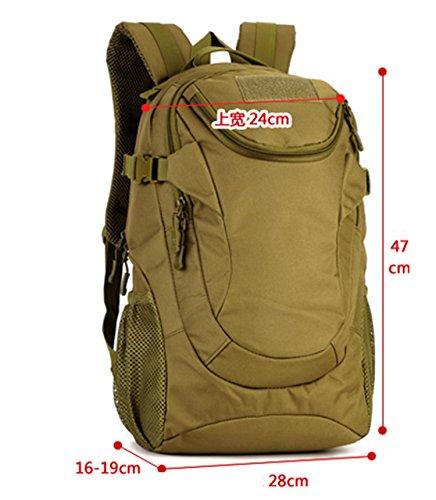 Protector Plus 25L mochila para portátil, pequeño bolso de hombro curvado, mochila de viaje de peso ligero para hombres mujeres , B E