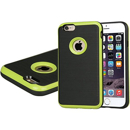 Soft Commuter Case for Apple iPhone 6 (Lime) - 8