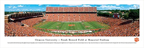 Clemson Football - 50 Yard - Blakeway Panoramas Unframed College Sports Posters