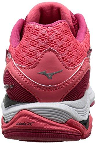 Running Shoe Coral Wave Calypso Skechers Women's Inspire Mizuno 12 Silver wxqX6p