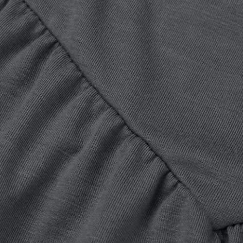 Manche sans Creux Grau Costume Chic Blouse Top Spaghetti Dentelle Shoulder Haut Tee Manches lgant Tops Mode Bouffant Bretelles Et Chemisier Femme Shirt Uni pissure Off SqYwHqT
