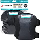 Durable Comfort Knee Pads for Work, Cleaning, Flooring, Gardening, Construction | Soft High Density Foam Inserts, Professional & Light Weight with Adjustable Non Slip Straps | Men & Women