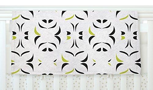 KESS InHouse Miranda Mol Retro Green Snow Storm Fleece Baby Blanket 40 x 30 [並行輸入品]   B077ZJM3R7