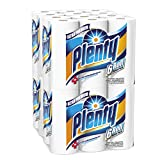 Image of Plenty Ultra Premium Full Sheet Paper Towels, White, 24 Total Rolls