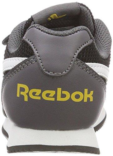 Gold Royal Black 000 Mixte Ash Mesh Chaussures Gymnastique Multicolore Enfant Reebok Cljog 2v de 2 Grey Fierce dTTZqP