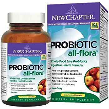 New Chapter Probiotic All-Flora, 120 Vegetarian Capsules