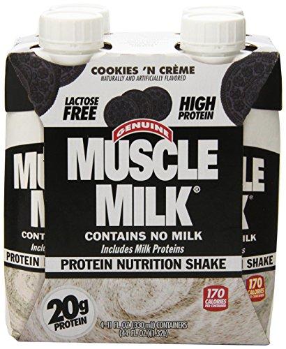 Cytosport Muscle Milk Genuine Ready-To-Drink Shake, Cookies