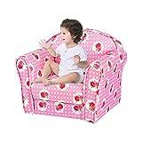 Keinode Tub Chair Kids Children Armchair Animal Star Flower Sofa Fabric Upholstered Girl Boy Seating Cartoon Lovely Colourful Bedroom Playroom