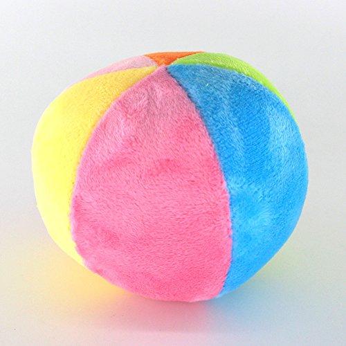 EoamIk Kleinkind Spielzeug Babybälle Kinder pädagogische Hand Bunte sensorische Ball Kinder Funnny Hand Rassel Bell Ball Spielzeug Geschenk