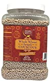 Natural Earth Whole Wheat Israeli Couscous - Certified Kosher - 100% Whole Grain - 22 Oz