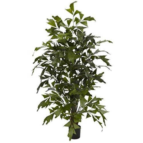 GHP 4.5' Decorative Artificial Fishtail Palm Silk Tree Faux Plants