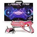 Dynasty Toys PINK Laser Tag Blaster and Flipping Robot Bug / Spider Target. Perfect Gift for Girls and Boys of All Ages