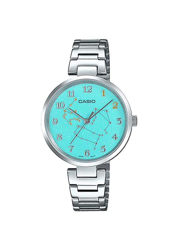 Amazon.com: Casio LTP-E08D-3A - Reloj analógico para mujer ...