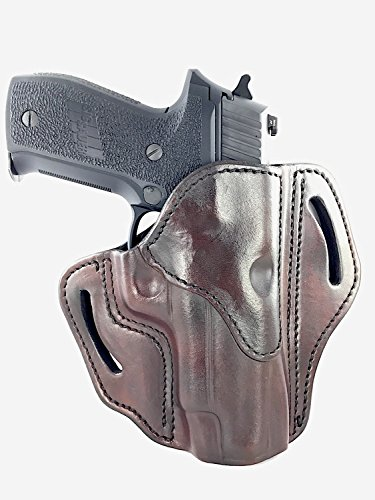 - 1791 GUNLEATHER Holster for Sig Sauer P226, P220, P229 Right Hand OWB Leather Gun Holster for Belts Also fits 1911 with Rails, H&K VP9 and Beretta 92FS (Signature Brown)
