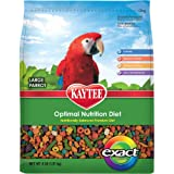 Kaytee Exact Rainbow Premium Daily Nutrition for Parrots and Conures, 4-Pound Bag, My Pet Supplies